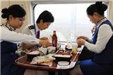 高铁乘务列车员工作餐